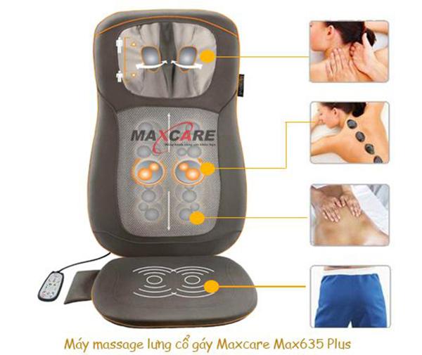 đệm massage cổ maxcare