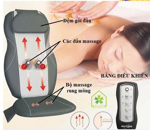 đệm ghế massage lưng buheung mk – 315