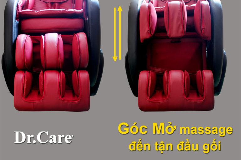 Ghế massage toàn thân dr care Xreal 912 mc912 cao cấp
