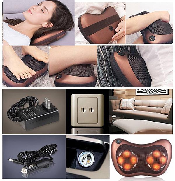 gối massage điện giá rẻ đầu buheung mk – 316