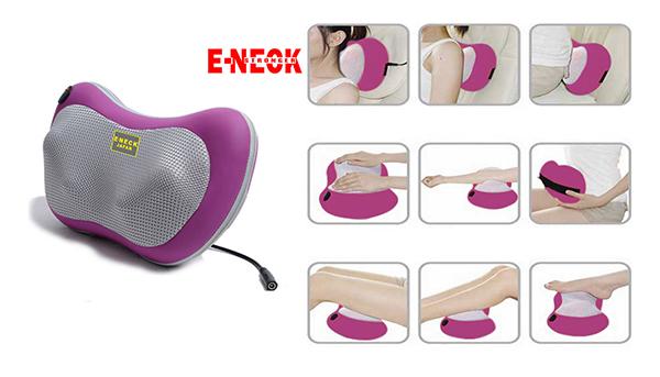 Gối massage hồng ngoại đánh tan đau nhức nhanh chóng