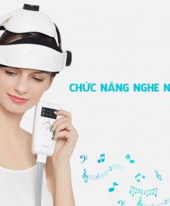 máy massage đầu Elip EINSTEIN chức năng nghe nhạc