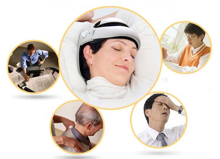 Mát xa giảm nhanh cơn đau đầu, thư giãn