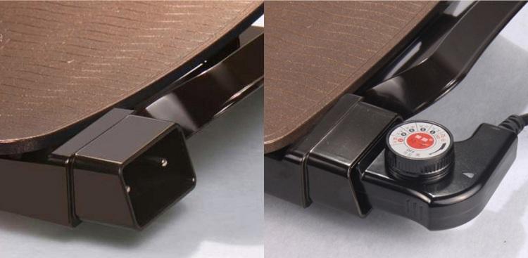 bếp nướng điện Shachu SK-P2850 bộ chỉnh nhiệt