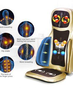 đệm massage toàn thân 6D Hàn Quốc 2019