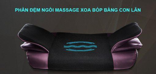 đệm massage toàn thân 6D Hàn Quốc vị trí mông
