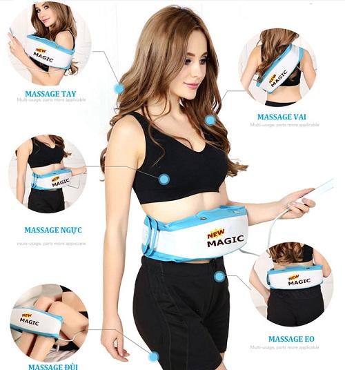 Dùng máy massage bụng có hiệu quả không