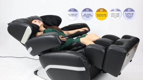 ghế massage toàn thân mới