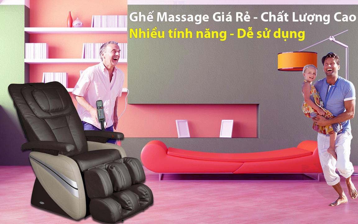 ghế massage toàn thân cao cấp chất lượng cao