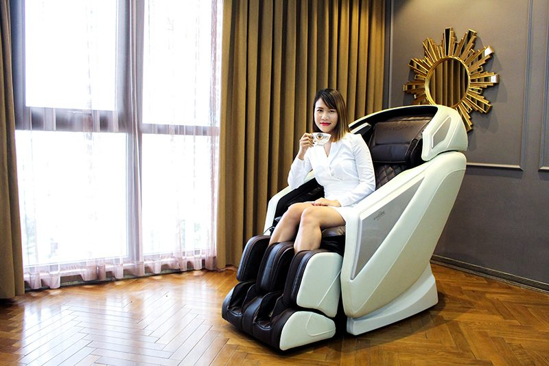 ghế massage toàn thân cao cấp mẫu mới