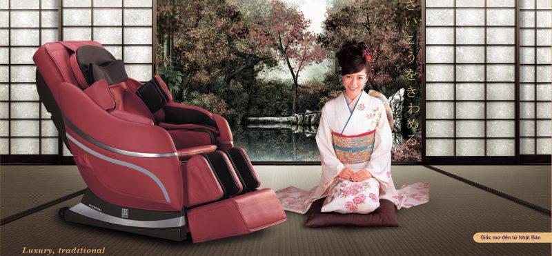 ghế massage toàn thân cao cấp thông minh