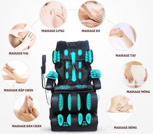 Ghế massage toàn thân loại nào tốt nhất hiện nay