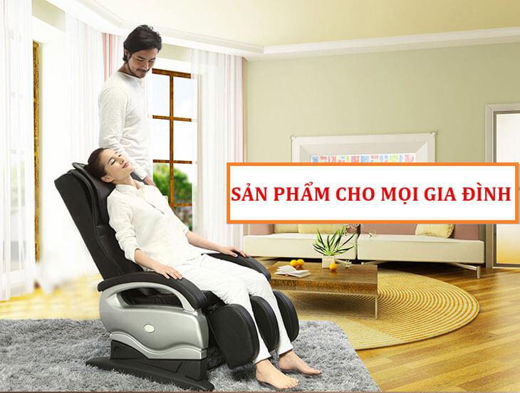 ghế massage toàn thân nhật bản mới nhất