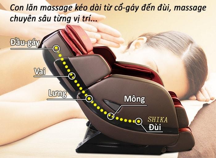 ghế massage toàn thân nhật bản thông minh