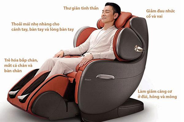 ghế massage toàn thân National độc đáo