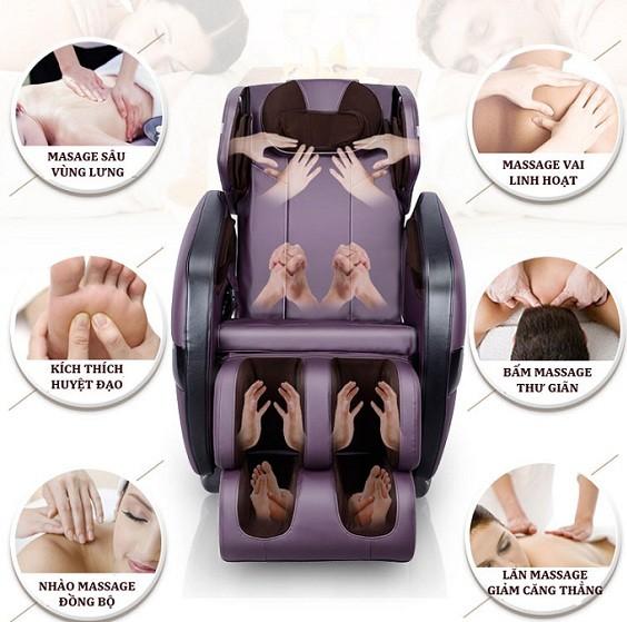 ghế massage toàn thân okia hiện đai
