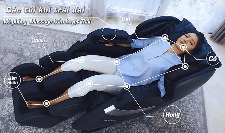 ghế massage toàn thân shika sk – 8900