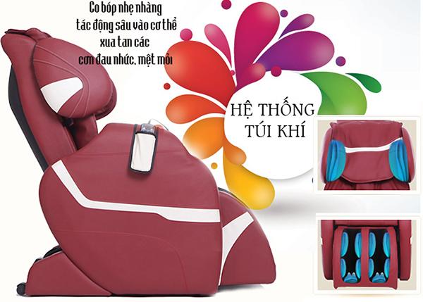ghế massage toàn thân shika độc đáo