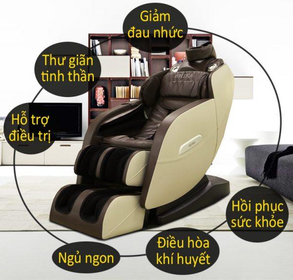 ghế massage toàn thân hàn quốc hiện đại