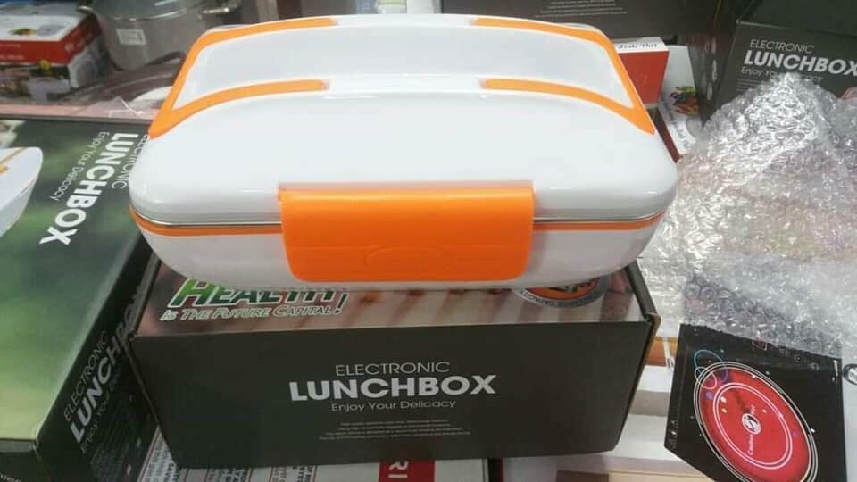 hộp cơm hâm nóng Lunchbox ruột inox vàng
