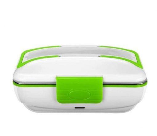 hộp cơm hâm nóng Lunchbox ruột inox xanh