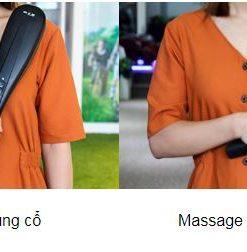 Máy massage cầm tay 6 đầu Hammer pin sạc thông minh