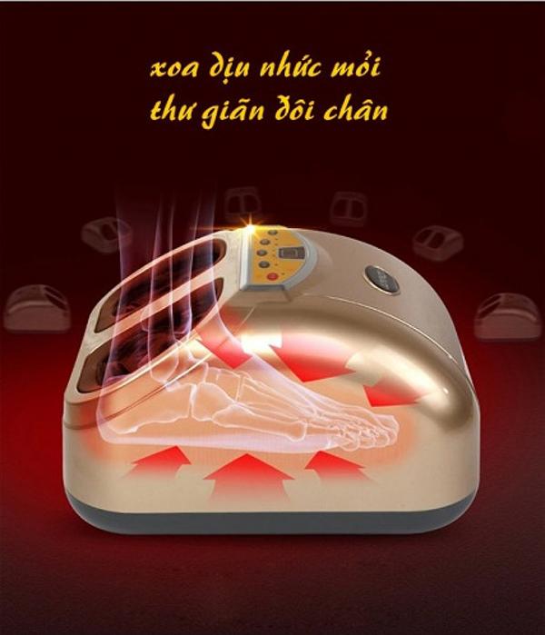 Máy massage chân Hàn Quốc TG – 730 độc đáo