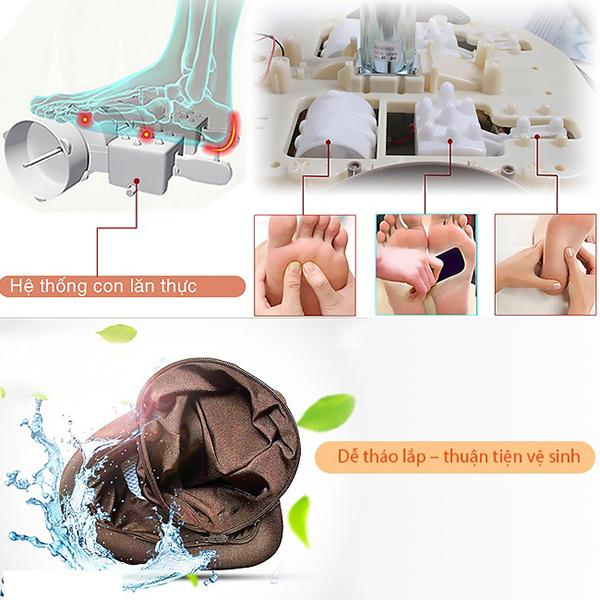 Máy massage chân Hàn Quốc TG – 730 hiện đại