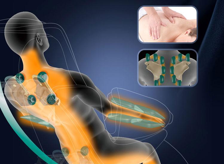 Đệm ghế massage toàn thân siêu hiệu quả