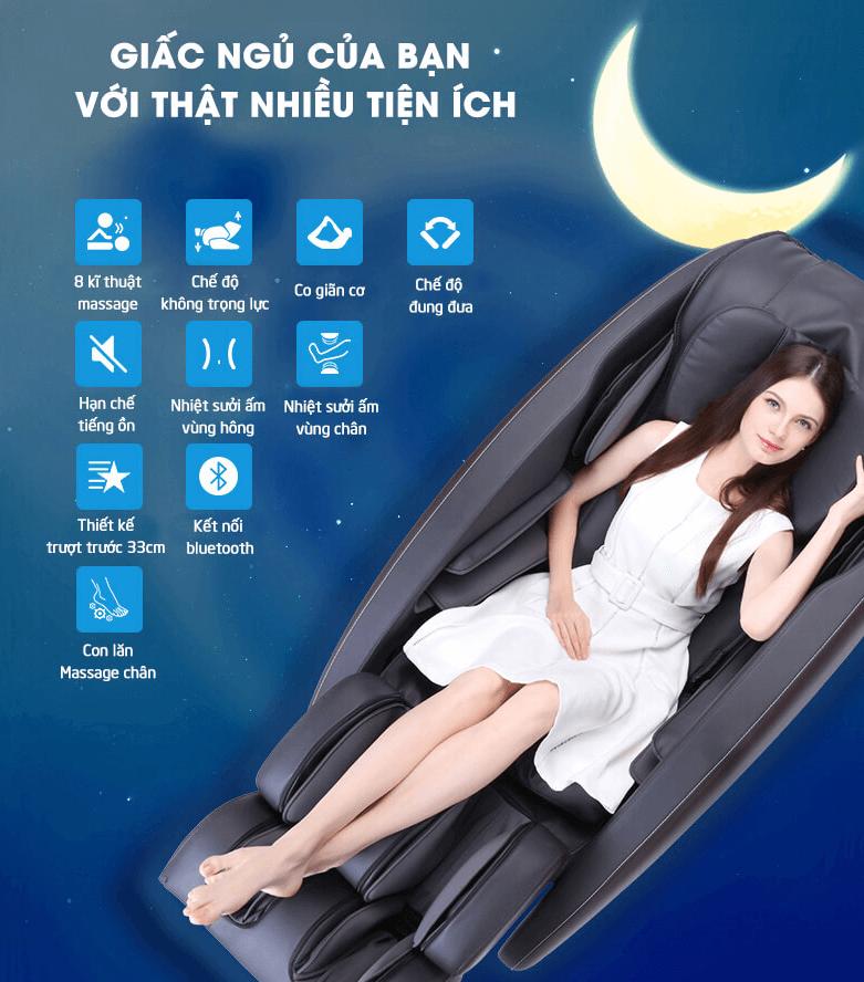 ghế massage toàn thân luxury tốt sức khỏe