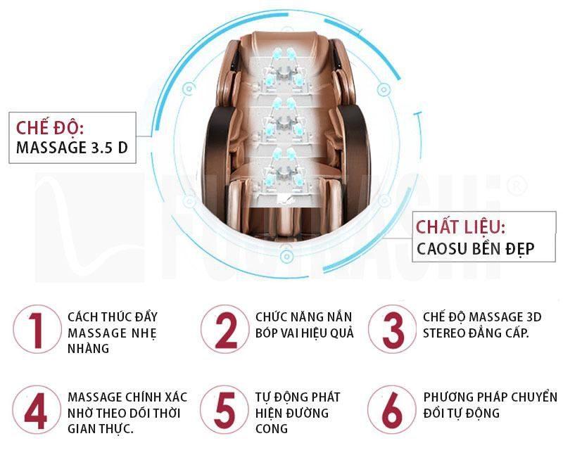 ghế massage toàn thân ogawa đem lại hiệu quả tốt