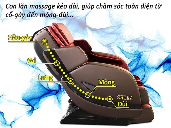 ghế massage toàn thân luxury đem lại lợi ích thiết thực
