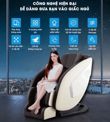 Ghế massage toàn thân cho người cao tuổi
