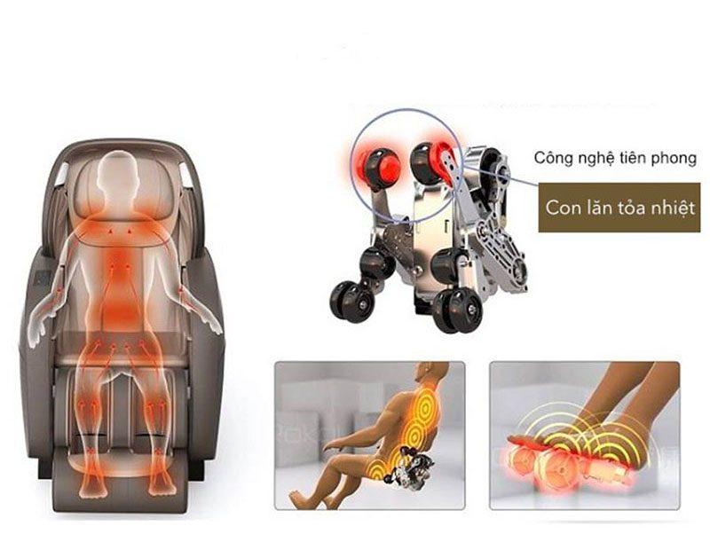 Ghế massage toàn thân shika chính hãng