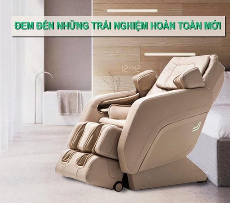 Ghế massage toàn thân shika siêu năng lượng
