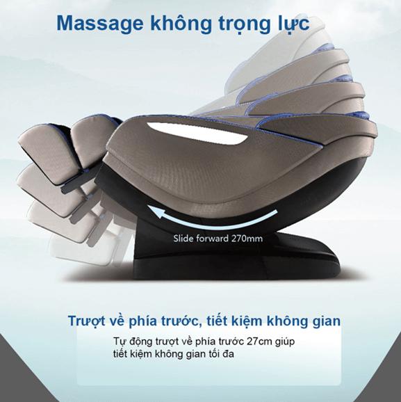 Ghế massage toàn thân shika nhập khẩu