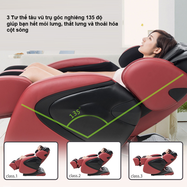 Ghế massage toàn thân giá rẻ nhiều tính năng