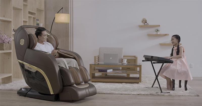 ghế massage toàn thân nhật mới nhất hiện nay