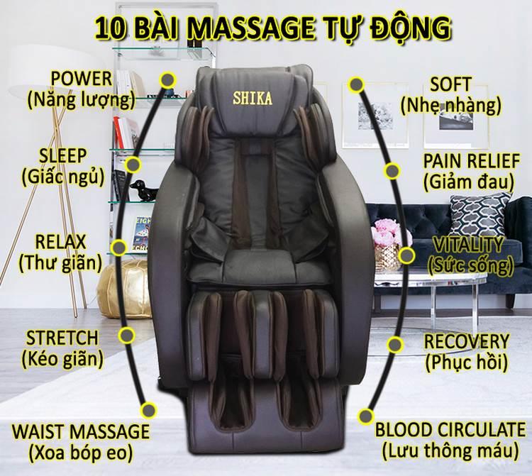 ghế massage toàn thân nhật tuyệt vời