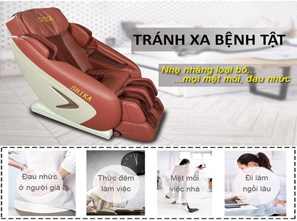 ghế massage toàn thân hà nội đảm bảo chất lượng