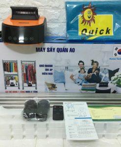 Máy sấy quần áo Samsung đèn UV sấy các loại vải