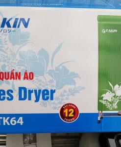 Máy sấy quần áo Takin TK64 sấy khô nhanh