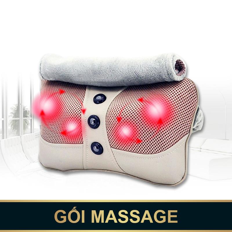 Tan biến mọi cơn đau nhức với gối massage hồng ngoại Ojugu