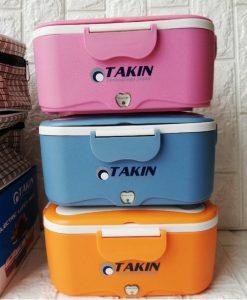 Hộp cơm cắm điện của Nhật Takin TK68 3 màu