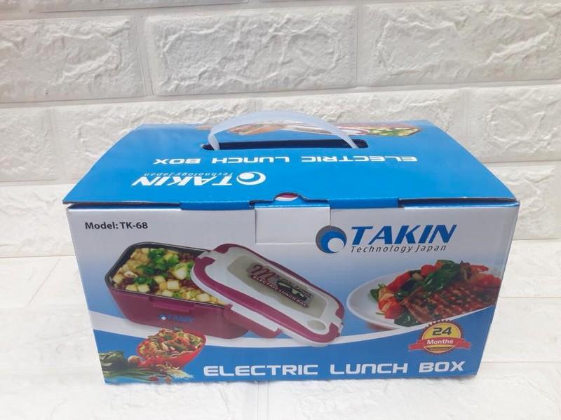 Hộp cơm cắm điện của Nhật Takin TK68 hộp đựng