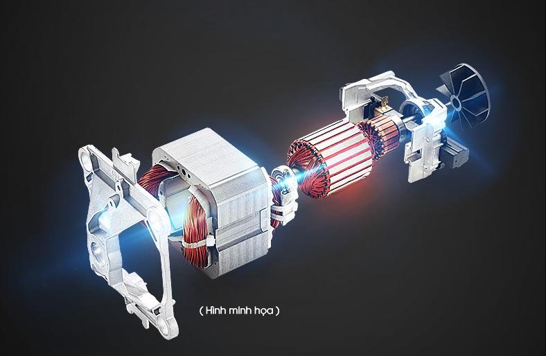 Minh họa động cơ 1800W