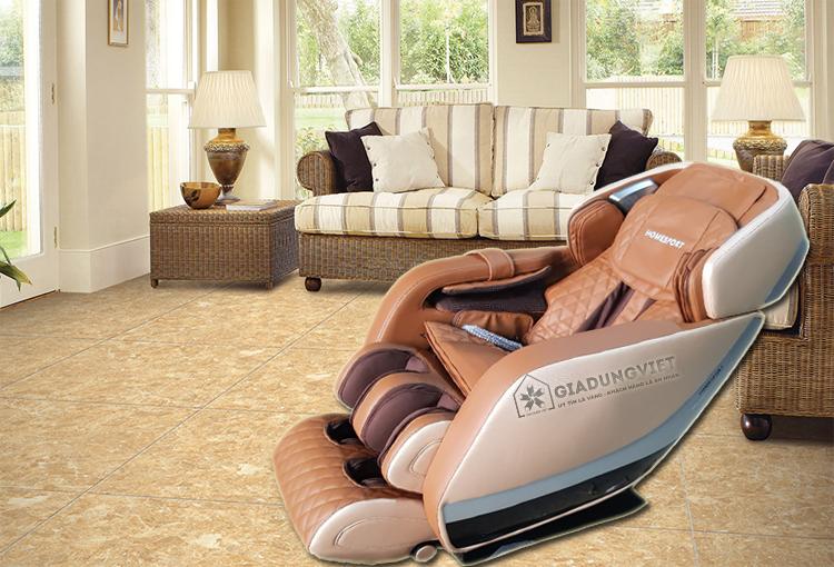 Ghế massage toàn thân Homesport HS 588 nội thất sang trọng
