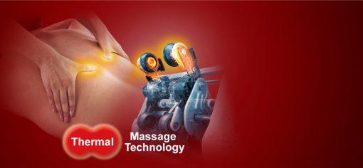 Ghế massage toàn thân Panasonic EP-MA73F con lăn lưng