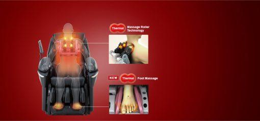 Ghế massage toàn thân Panasonic EP-MA73F matxa nhiệt