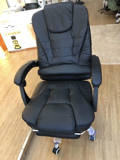 ghế massage văn phòng 2019 màu đen sang trọng